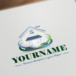 online-house-realty-logo-design-templates