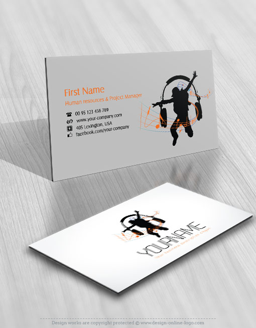 Exclusive design music dj logo compatible free business card exclusive design music dj logo compatible free business card online logo design custom logo design reheart Gallery