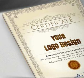 CERTIFICATE OF ORIGIN LOGO DESIGN LICENSE