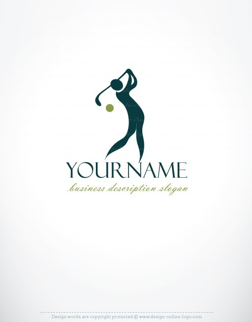 Exclusive design golf logo compatible free business card online exclusive design golf logo compatible free business card online logo design custom logo design reheart Image collections