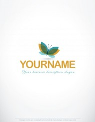 00043-ready-made-3d-Butterfly-exclusive-logo-design