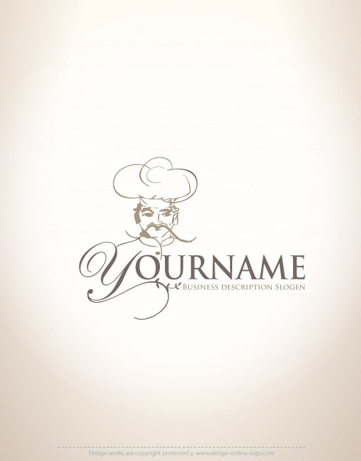 00054-ready-made-chef-food-exclusive-logo-design
