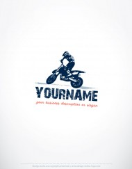 00068-ready-made-Motorcycle-Rider-exclusive-logo-design