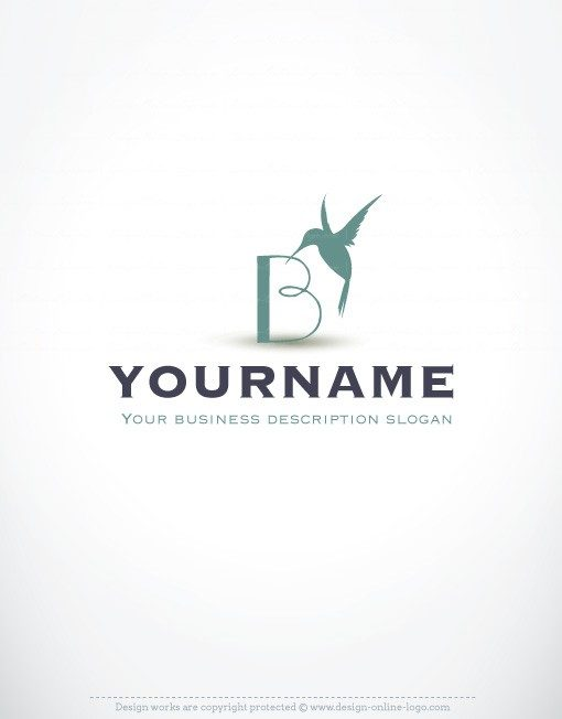 00079-ready-made-Initials-bird-exclusive-logo-design
