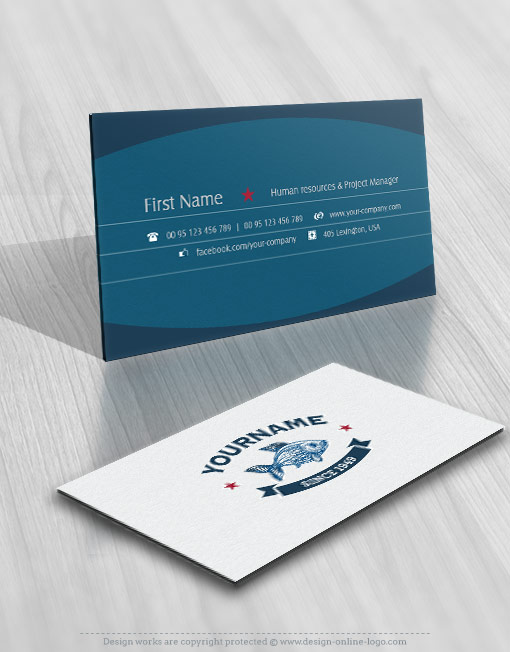 Exclusive design seafood fish restaurant logo compatible free prev colourmoves