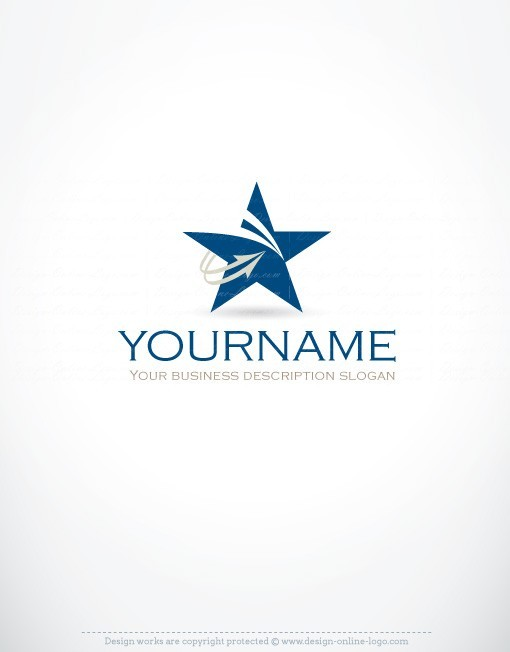 Exclusive design innovative star logo free business card reheart Image collections