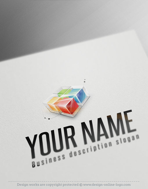 3d cub exclusive logo template