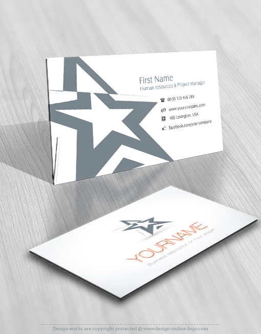Review Of Artist Design : Exclusive design three dimensional artistic star logo