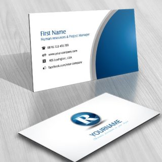 eye Initials logo template CARD DESIGN