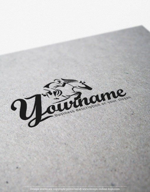 00601-ready-madeHorse-Riding-exclusive-logo-design-bw