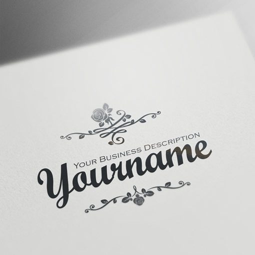 00608-ready-made-Vintage-Flowers-exclusive-logo-design.logos