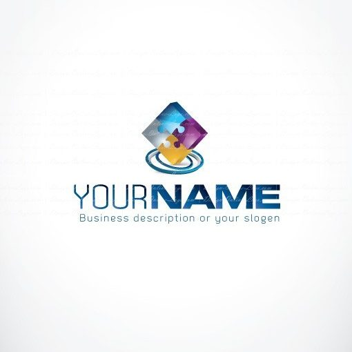 00611-ready-made-Puzzle-exclusive-logo-design