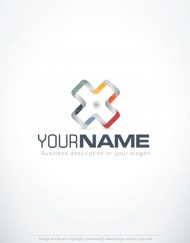 00617-ready-made-3D-colors-exclusive-logo-design