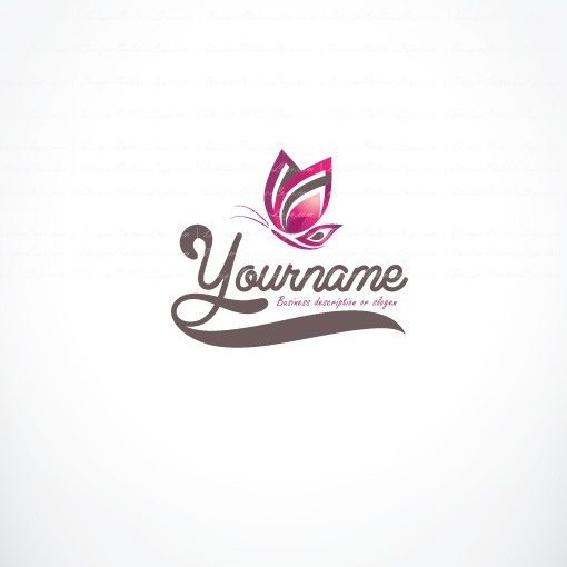 00809-ready-made-Butterfly-exclusive-logo-design