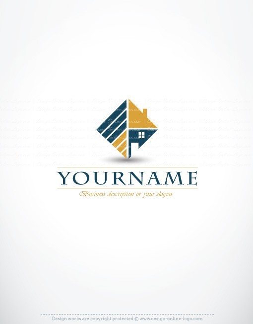 real estate logo design for sale