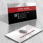 3D Puzzle Globe Logo FREE Business Card