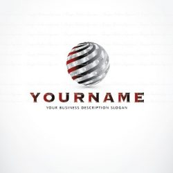 Online Logo design with a symbol of Puzzle globe