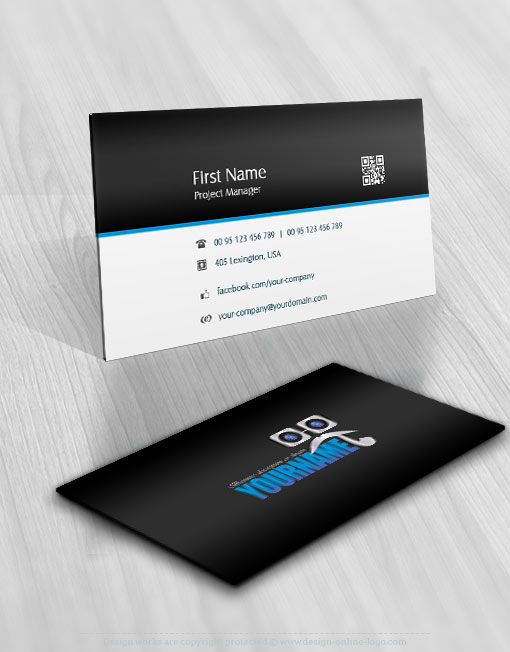 Exclusive design high tech detective logo compatible for Sample private investigator business cards