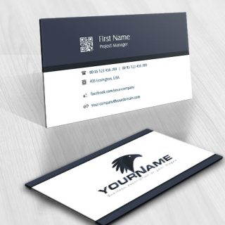 Powerful Eagle Logo business-card