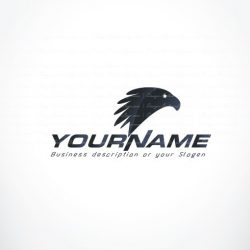 Powerful Eagle Logo