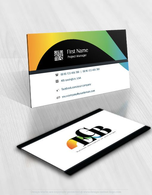 ready-made-Initials-Typography-exclusive-logo-design business-card-design