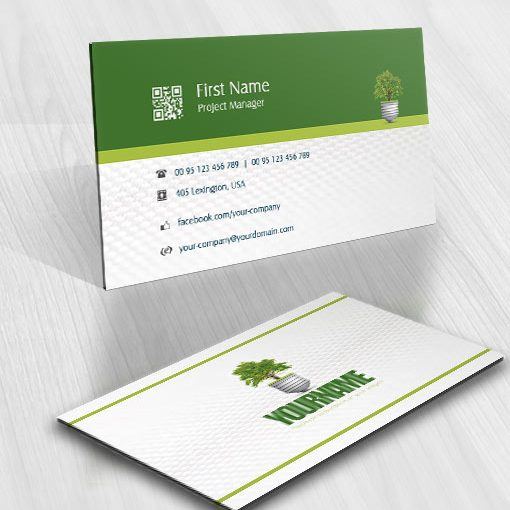 Tree-light online logo for sale free card design
