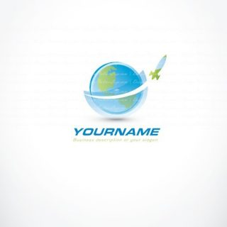 01180-ready-made-globe-Missile-Rocket-exclusive-logo-design