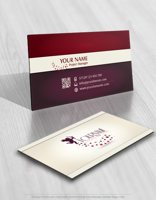 company online logo for sale free card design