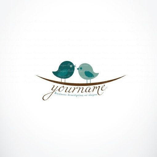 love birds online logo for sale free card design