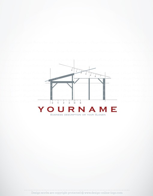 01207 ready made architect exclusive logo design for Architecture logo inspiration