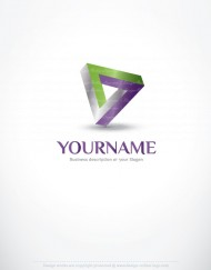 01233-ready-made-3d-Geometric-exclusive-logo-design