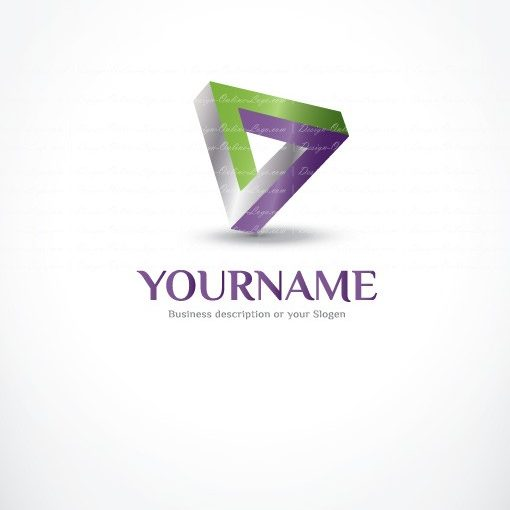 Geometric online logo for sale free card design