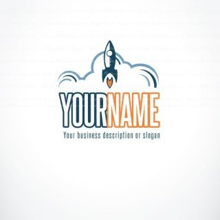 rocket online logo for sale free card design