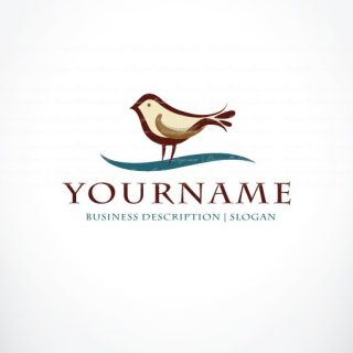 bird online logo for sale free card design