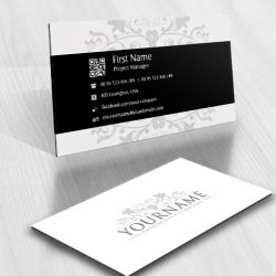 01293-logo-flowers-bw-business-card-design