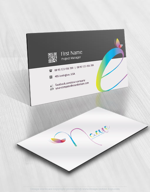 01298-logo-colorful-butterfly-business-card-design