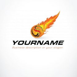 01301-ready-made-Flames-Fire-exclusive-logo-design
