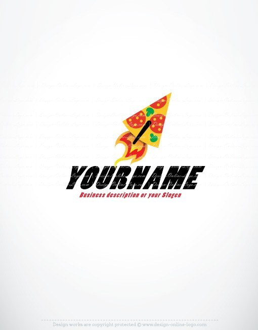buy ready online logos pizza logo design