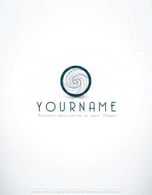 buy ready online logos Abstract-circle logo design