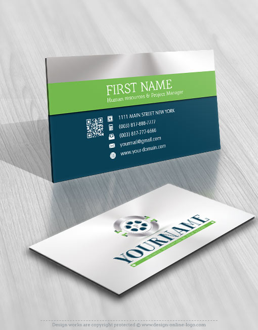 Photograph Logo FREE Business Card