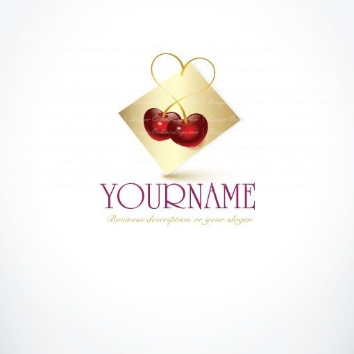 buy ready online logos Fruit-cherry logo design
