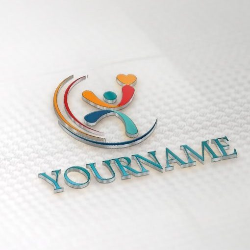 01387-ready-made-People-company-human-exclusive-logo-design-3d