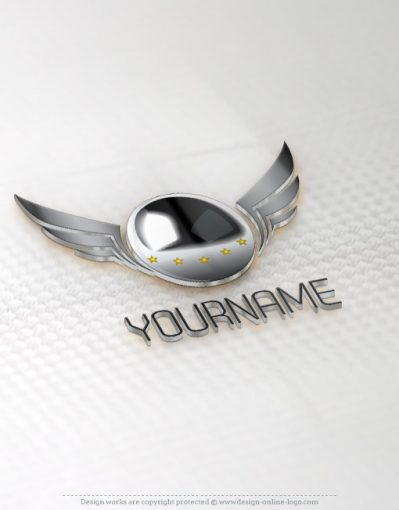 buy ready online logos Cinema-wings- logo design