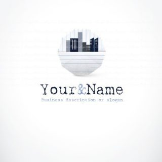 Real estate agency logo design