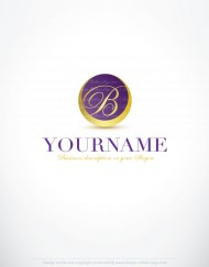 Luxury logo with letters and acronyms