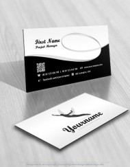 01501-man-fly-logos-wings--logo-business-card-design