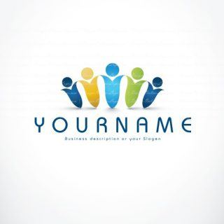 group of people logo
