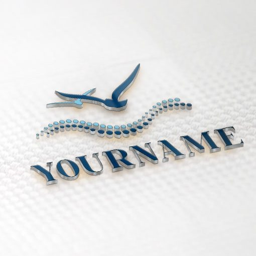 Seagulls sea Logo + Compatible FREE Business Card