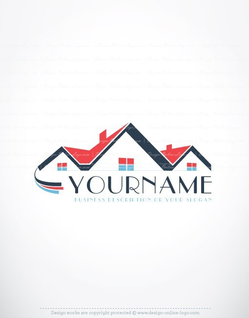 Logo Design House Real Estate