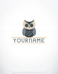 ready made owl logos for sale online